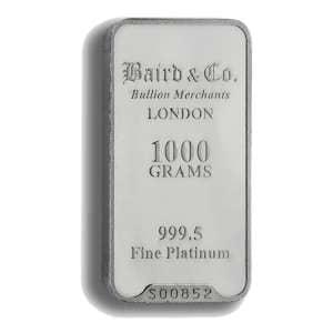 Baird & Co Platinum Bars