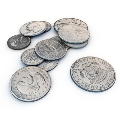 All Silver Coins