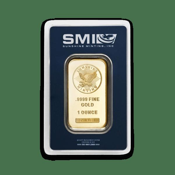 Sunshine Mint Gold Bars