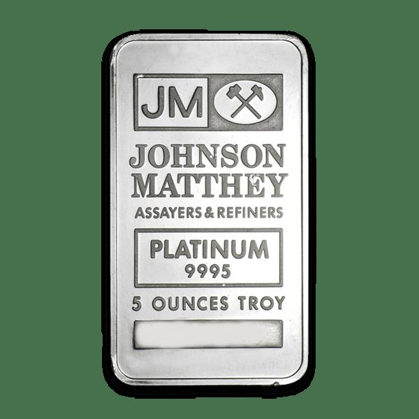 Johnson Matthey Platinum Bars