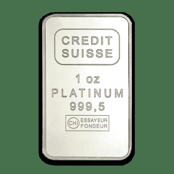 Credit Suisse Platinum Bars