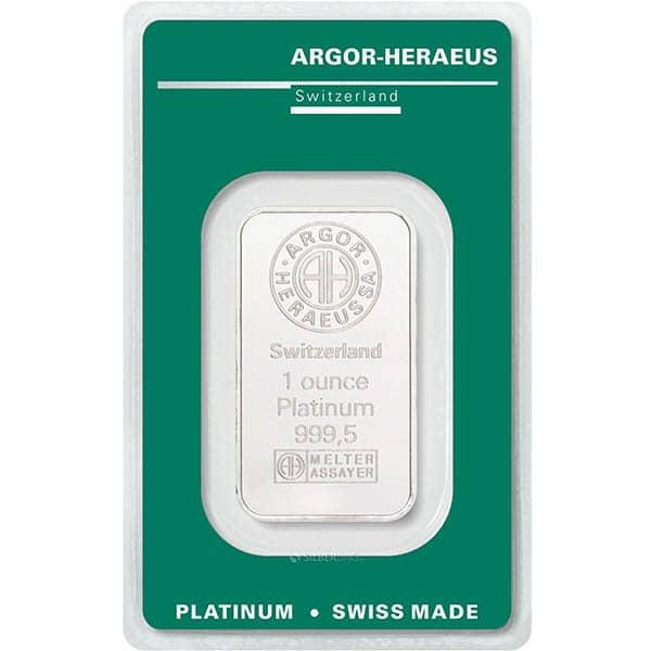 Heraeus Platinum Bars