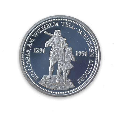 Swiss Platinum Coins
