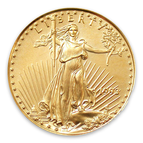 1993 1/10oz American Gold Eagle