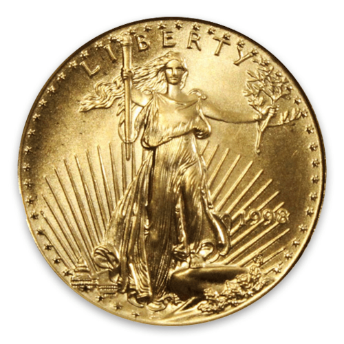 1998 1/10oz American Gold Eagle