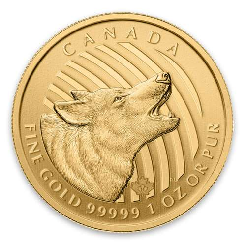 2014 1oz Canadian Howling Wolf - 99999