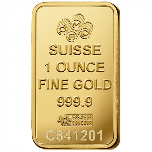 1oz PAMP Gold Bar - Fortuna