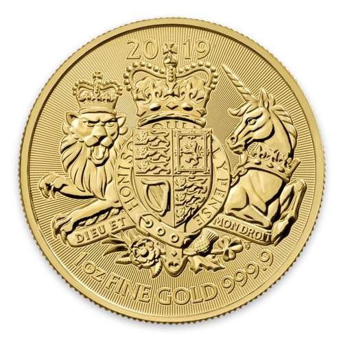 2019 Great Britain 1 oz Gold The Royal Arms