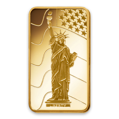 2.5g PAMP Gold Bar - Liberty