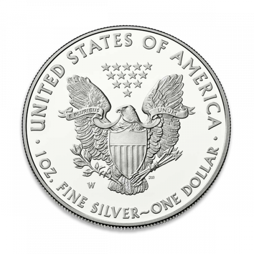 1oz Silver Eagle  Proof - with Original Govt Packaging