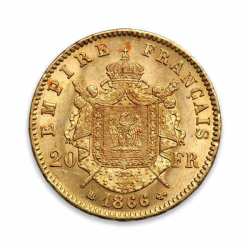 French Gold 20 FRANCS