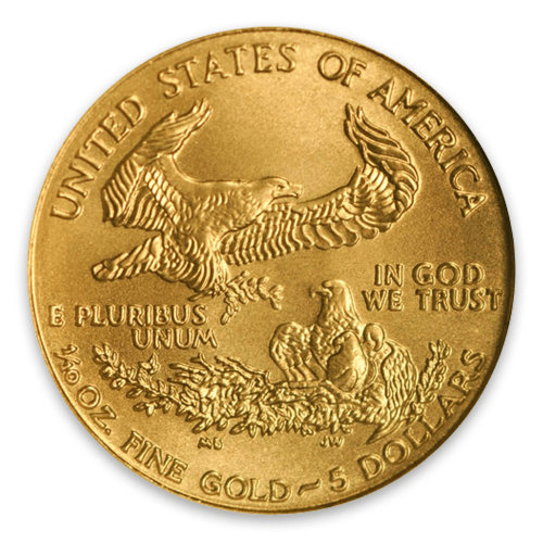 2002 1/10oz American Gold Eagle