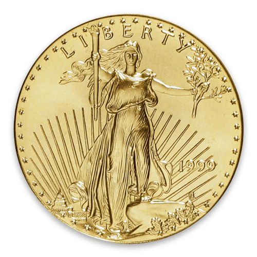 1999 1/4oz American Gold Eagle