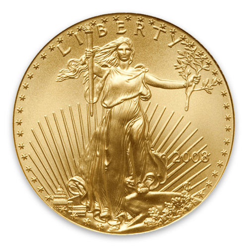 2008 1/4oz American Gold Eagle