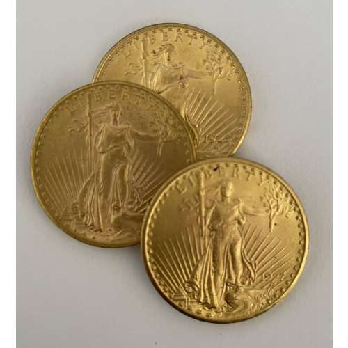 Any Year $20 Saint Gauden Double Eagle Gold Coin