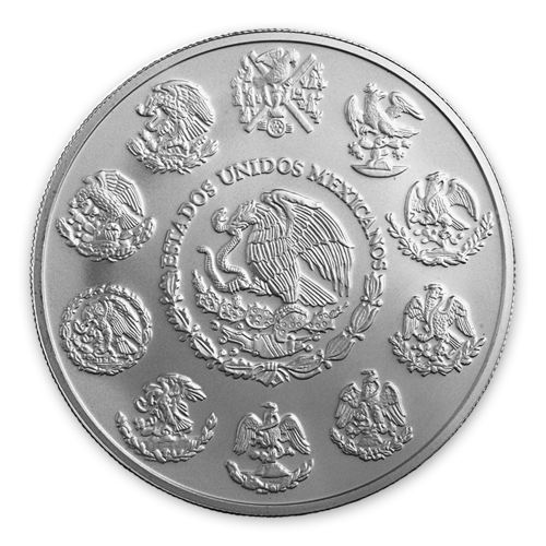 Any Year 2 oz Mexican Silver Libertad