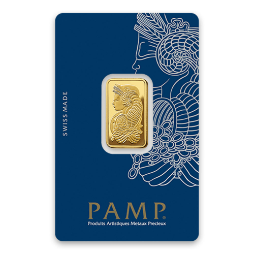 10g PAMP Gold Bar - Fortuna