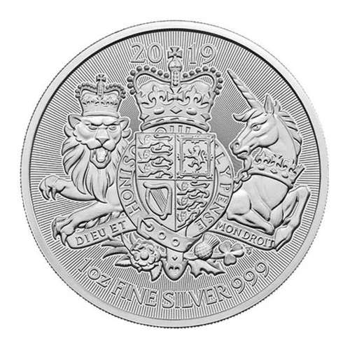 2019 1oz British Royal Arms Silver Coin