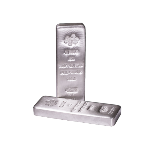 100oz PAMP Cast Silver Bar