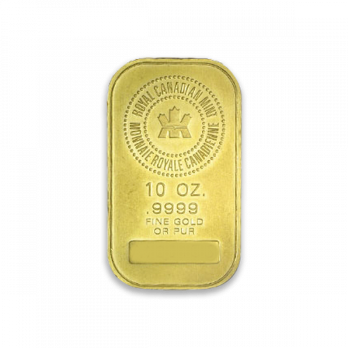 10oz RCM Gold Bar