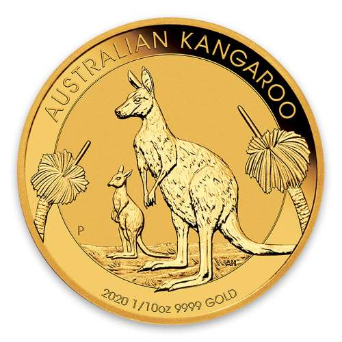 2020 1/10oz Australian Perth Mint Gold Kangaroo
