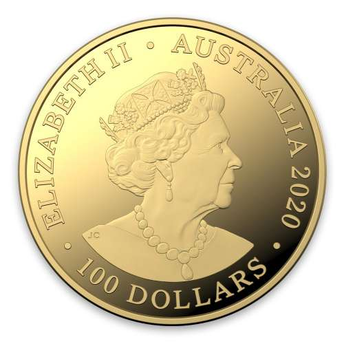 2020 1oz Spinner Dolphin Gold Coin