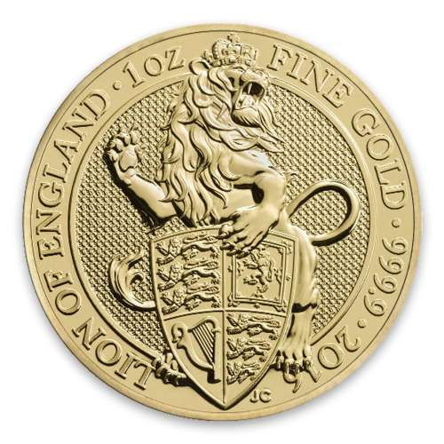 2016 1oz Britain Queen's Beasts: The Lion