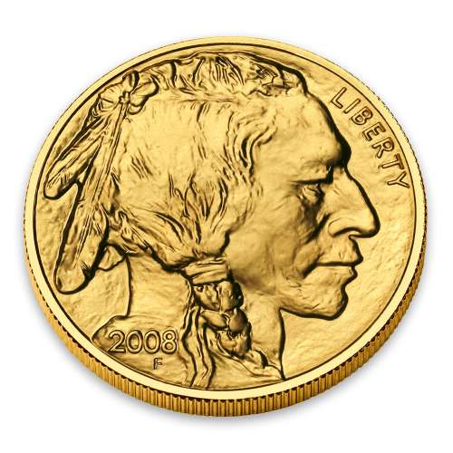 2008 1/10oz Gold American Buffalo