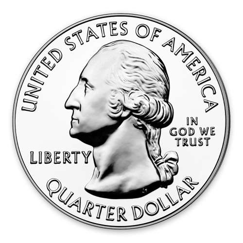 2011 5 oz Silver America the Beautiful Chickasaw National Recreation Area Park