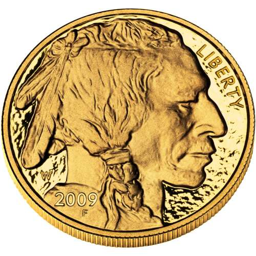 2009 1oz Gold American Buffalo