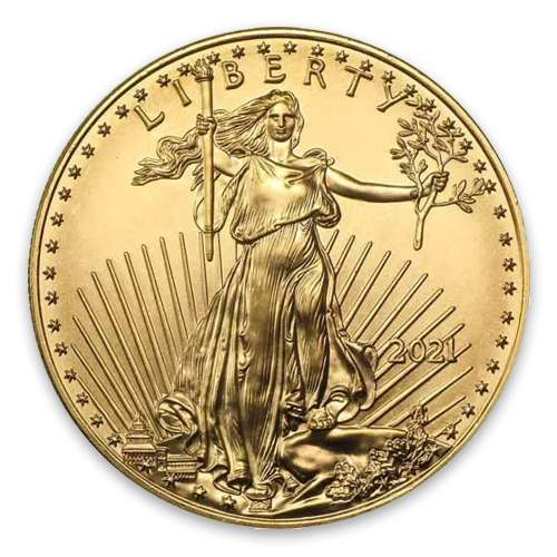 2021 1oz American Gold Eagle - Type 1
