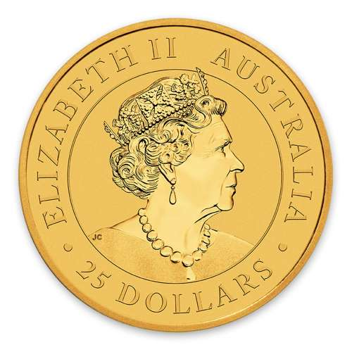 2020 1/4oz Australian Perth Mint Gold Kangaroo