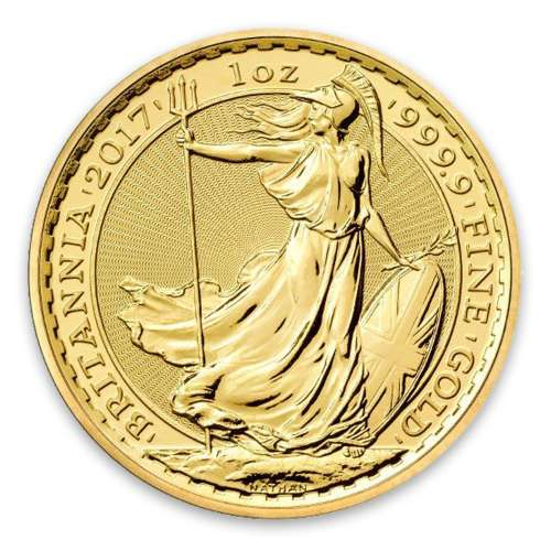 2017 1oz British Gold Britannia