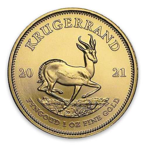 2021 1oz South African Gold Krugerrand