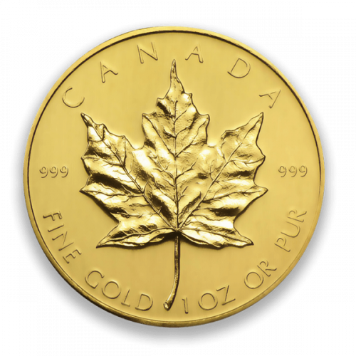 1oz Canadian Gold Maple Leaf - 999 (1979-82)