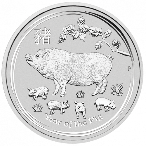 2019 10oz Australian Perth Mint Boar