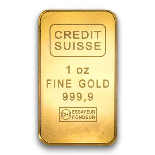 1oz Credit Suisse Gold Bar