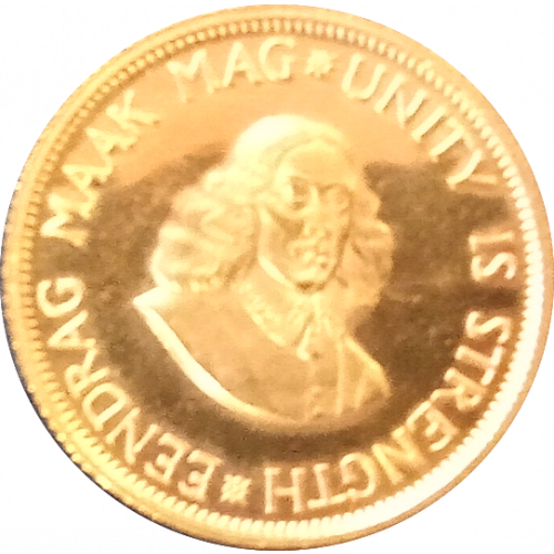 South Africa 2 Rand gold coin