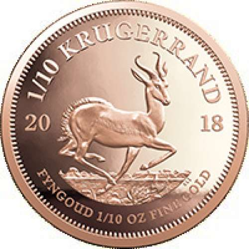 Any Year 1/10oz South African Gold Krugerrand