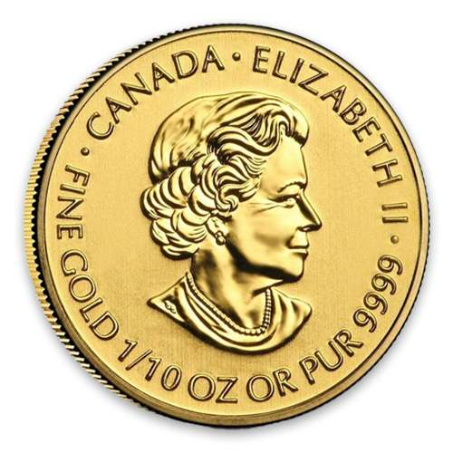 2013 1/10 oz Canadian Devil's Brigade Gold Coin